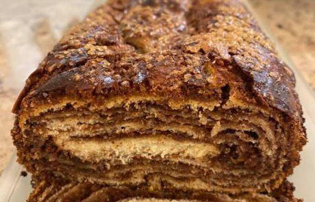 אמא של העוגות שמרים – בצק עם הרבה קיפולים