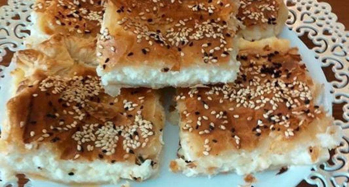 בורקס גבינות מעלף מבצק פילאס