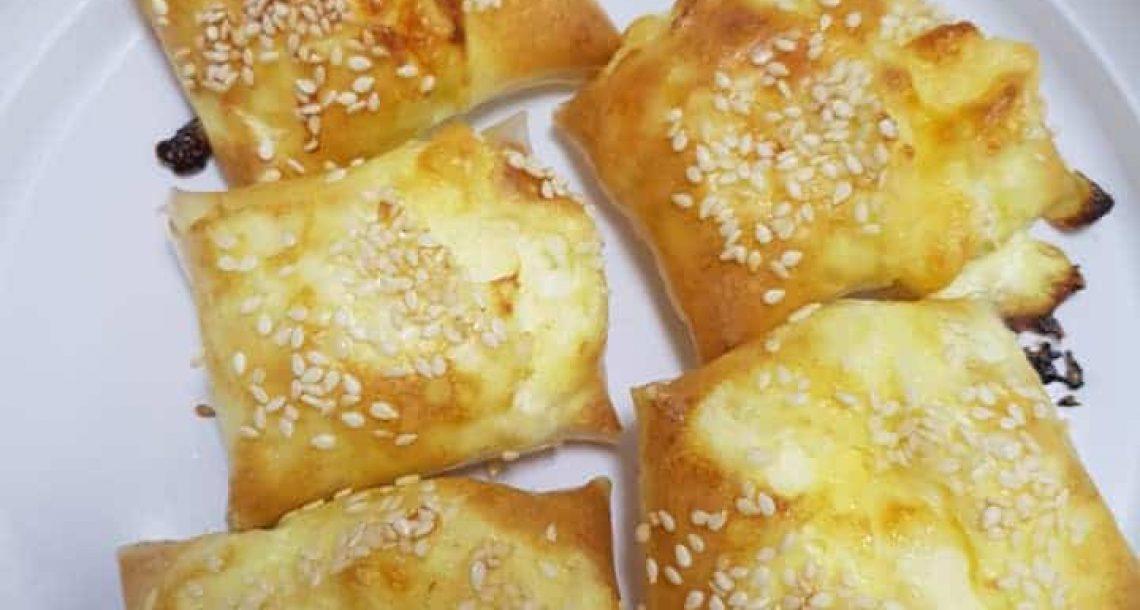 בורקס מדפי אורז במילוי גבינות – לכל השומרות בנינו וגם למי שלא