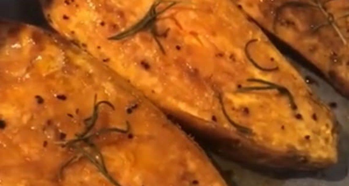 בטטה בתנור – מנה אחת משביעה כמו ארוחה