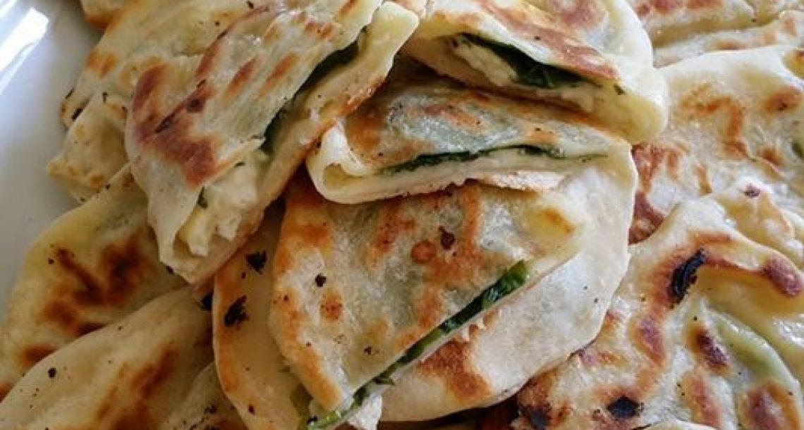 גוזלמה – מאפה תורכי עם גבינות ותרד