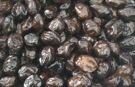 זיתים שחורים במלח