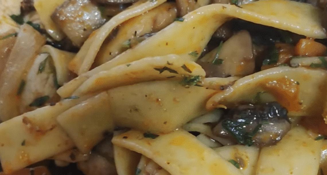 חזה עוף עם פיטריות וירקות – הכי טעים