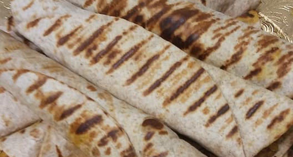 טורטיות במילוי חזה עוף וצנוברים
