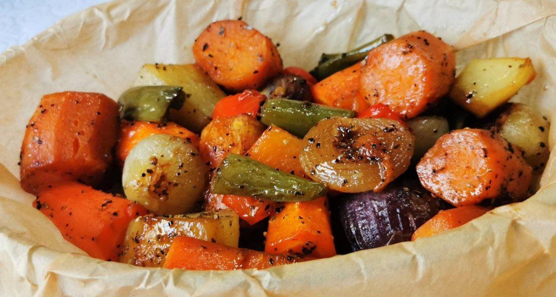 ירקות בתנור יאמי יאמי