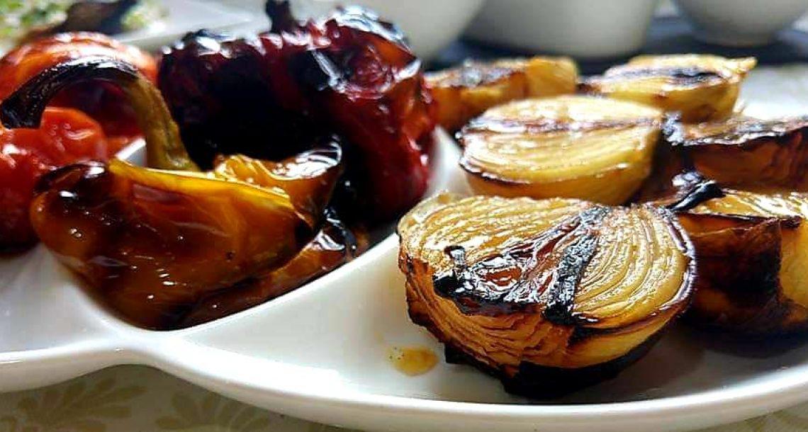 ירקות צלויים בתנור