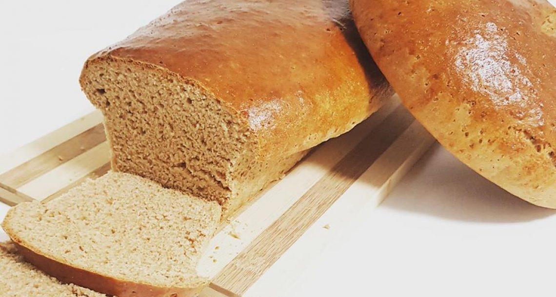 לחם כוסמין מקמח כוסמין מלא