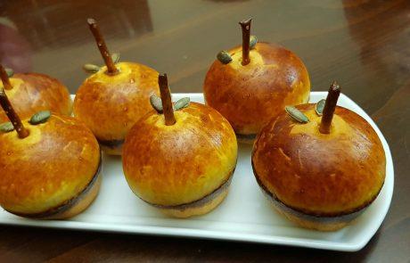 לחמניות תפוח עץ