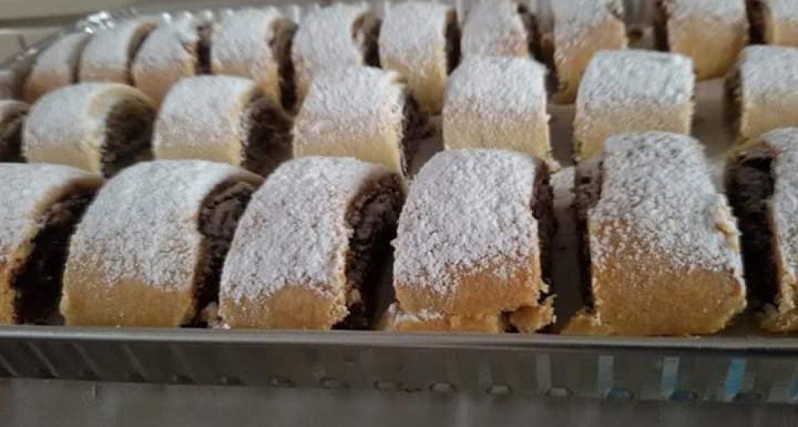 מגולגלות תמרים אוזני המן במילוי שוקולד ועוגיות ריבה