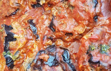 מוסקה – חצילים ובשר