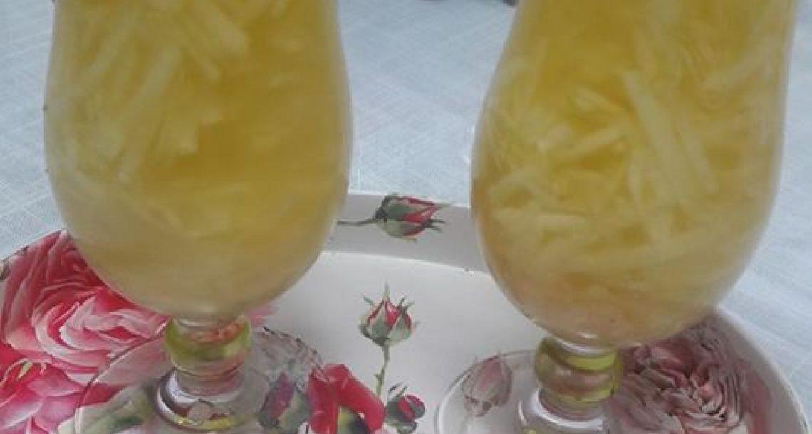 משקה תפוחים טעים ומרענן ב 10 דקות