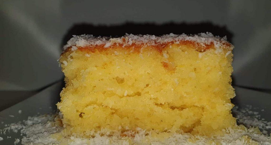 עוגה מטריפה וקלה – תפוזים קוקוס