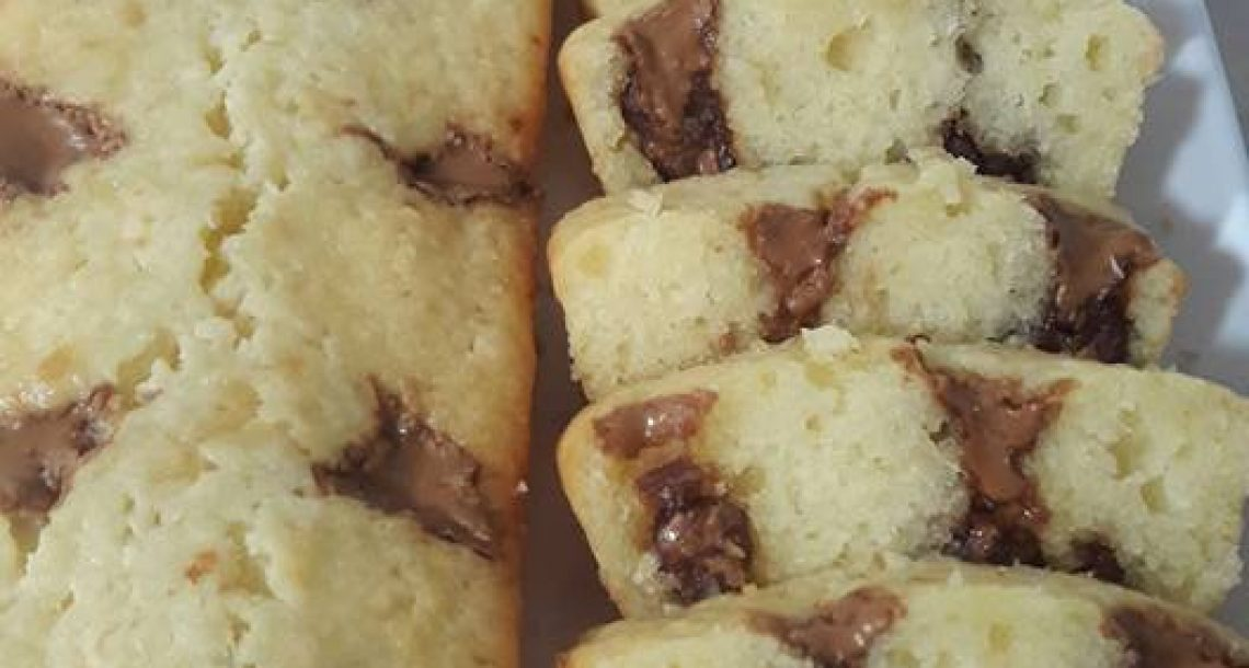 עוגה עם נגיעות ממרח לוטוס פרווה