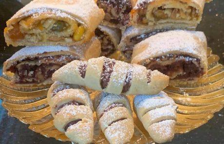 עוגיות בצק פלאים שלי – הפעם בקיפול שונה – ללא סוכר ביצים ומרגרינה