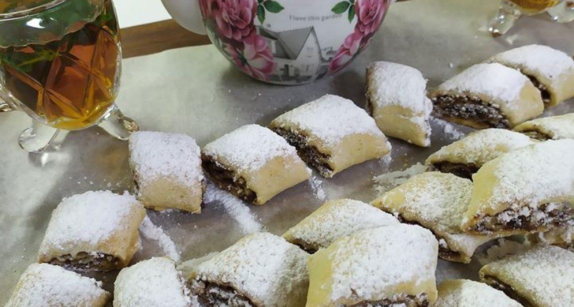 עוגיות מגולגלות שמתאימות עם תה או קפה – הגשם עושה חשק
