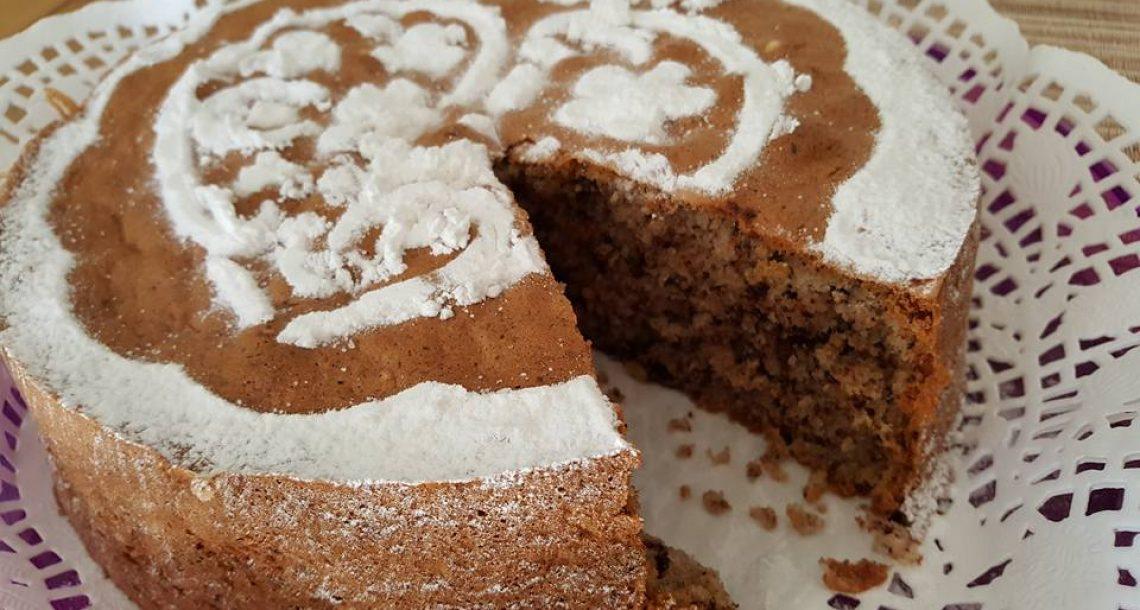 עוגת אגוזים קוקוס ושוקולד אוורירית ומאוד טעימה