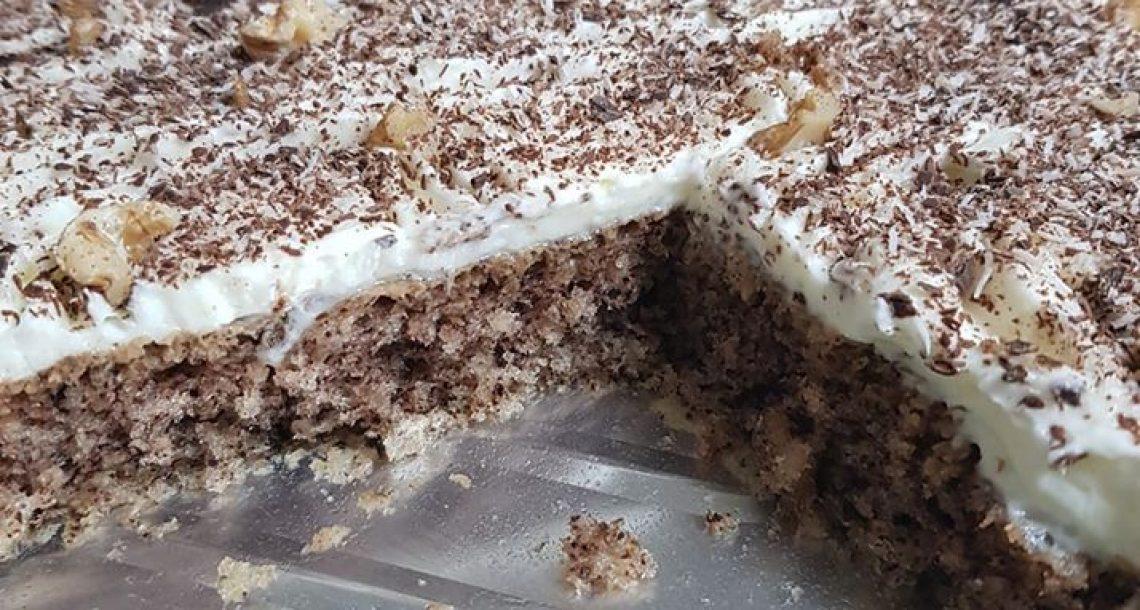 עוגת אגוזים קוקוס ושוקולד – כל פסח אני מכינה שנים