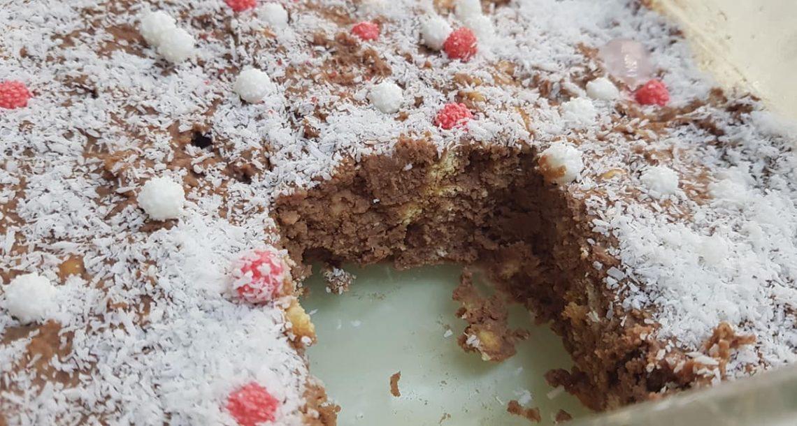 עוגת ביסקוויטים בקלי קלות