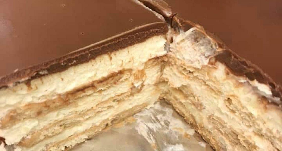עוגת ביסקיוויטים קלאסית