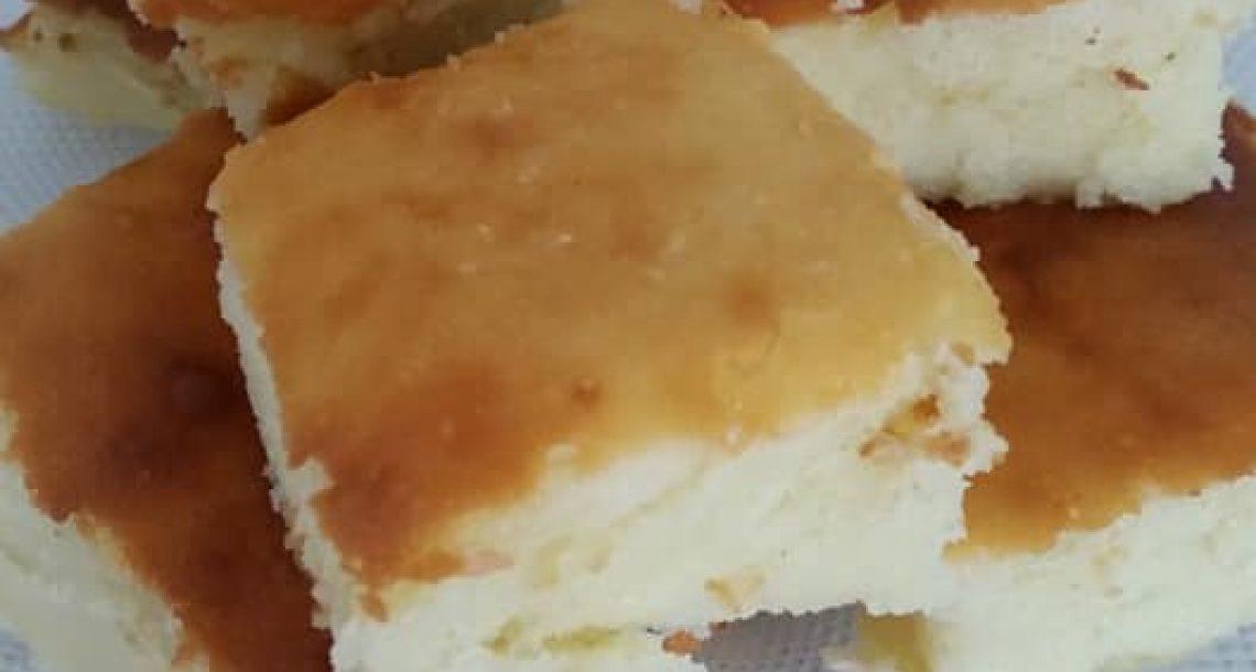 עוגת גבינה אפויה (של בית מלון) – רכה, בחושה וללא הפרדת ביצים