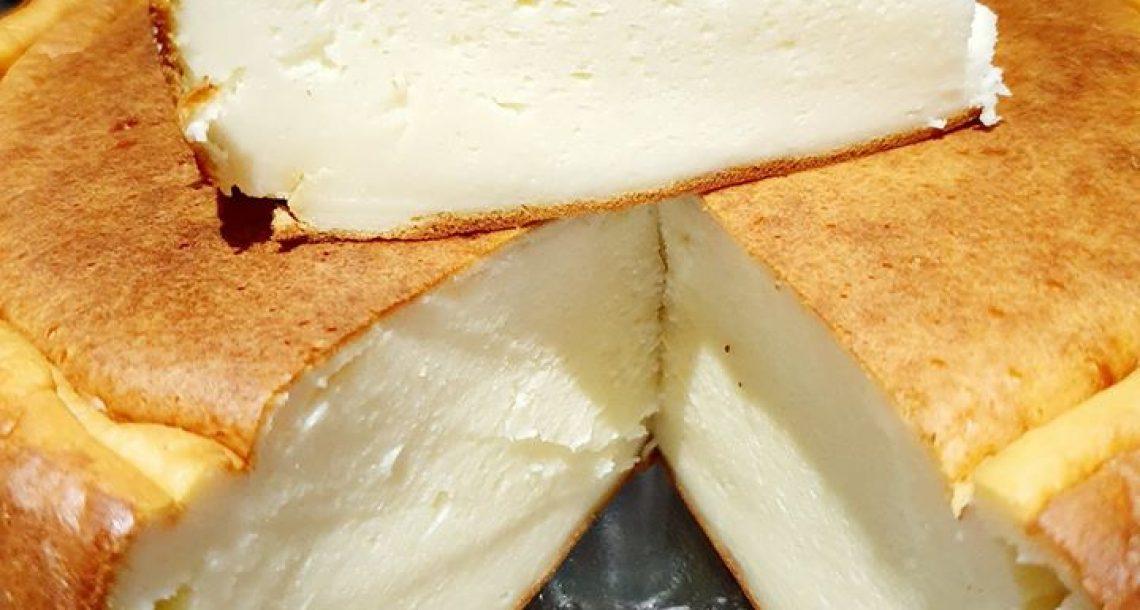 עוגת גבינה ללא הפרדת ביצים – אוורירית וטעימה
