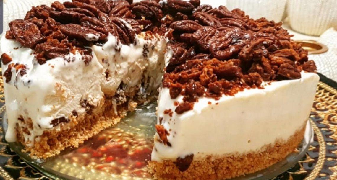 עוגת גלידה פקאן משגעת – כמה שזה טעים