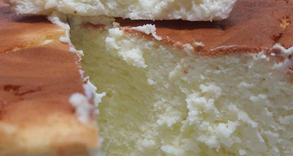 עוגת הגבינה שלי יצאה יפה וטעימה