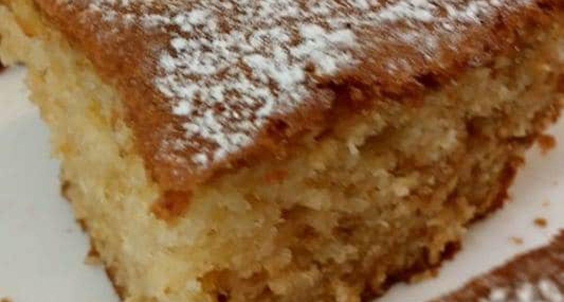 עוגת וניל פרווה נהדרת בכלום עבודה