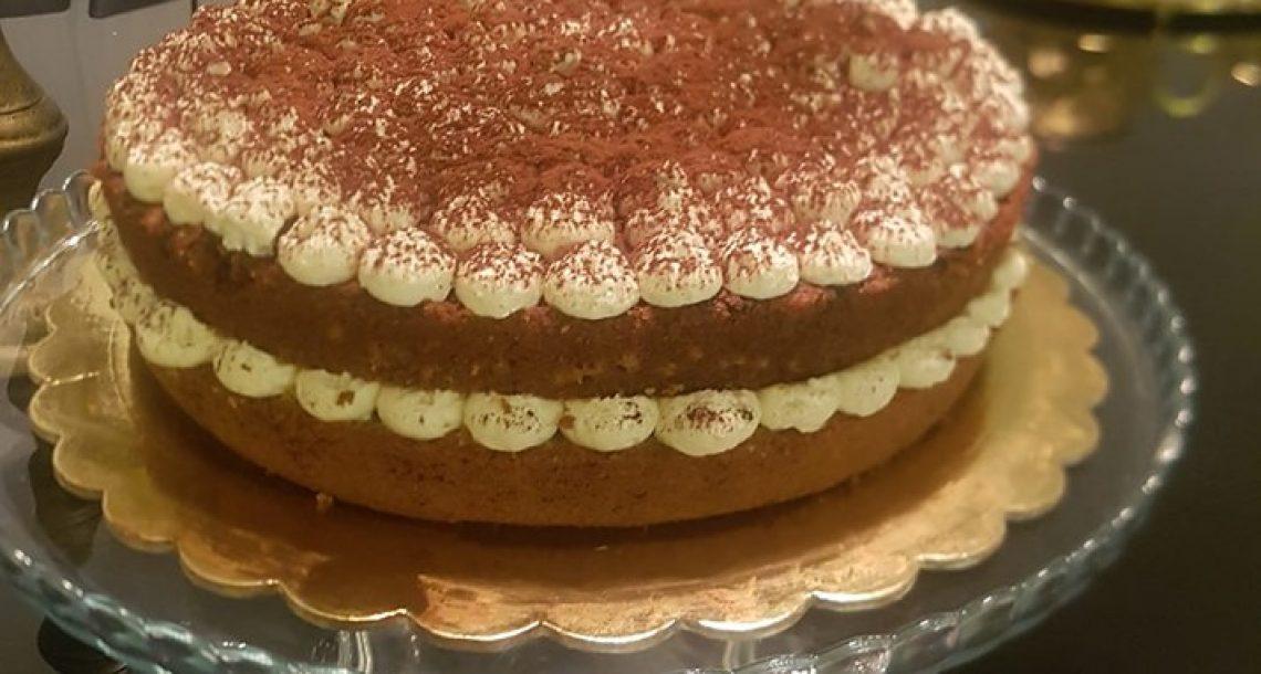 עוגת טירמיסו בחושה חגיגית ביותר
