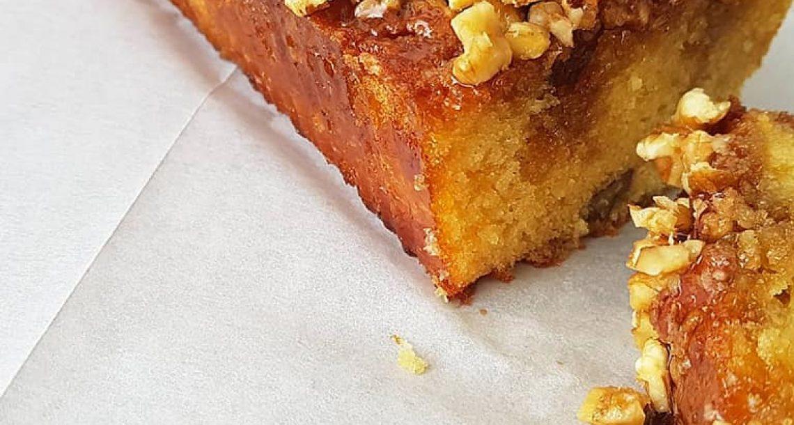 עוגת מייפל פקאנים ואגוזים היסטרית – הכי טעימה בעולם