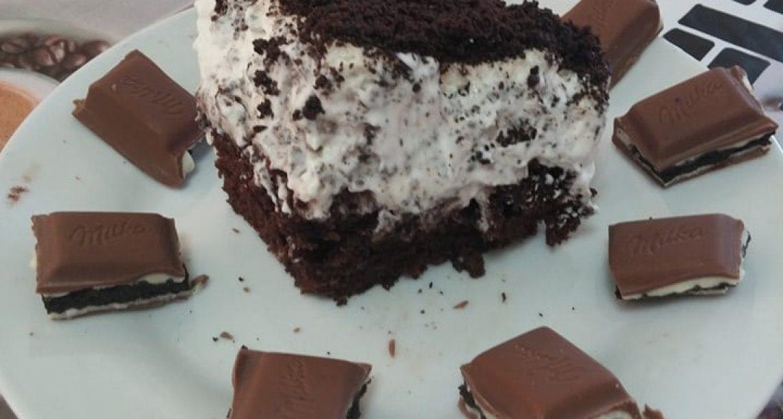 עוגת מילקה אוראו משגעת