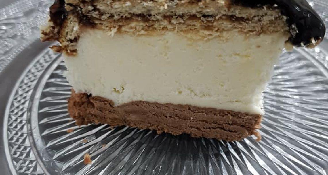 עוגת קרמבו – שכבות וקרם שוקולד
