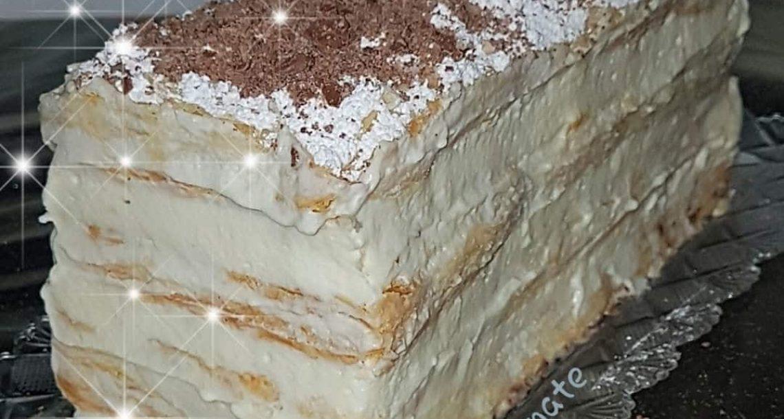 עוגת קרמשניט נפוליאון קלה להכנה
