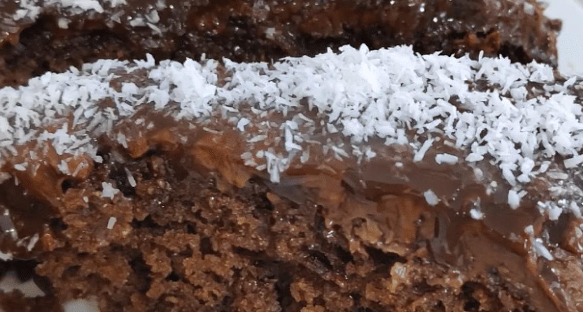עוגת שוקולד עם קוקוס – נדירה וטעימה