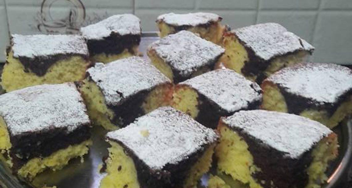 עוגת שיש הכי רכה טעימה ונימוחה בקלי קלות
