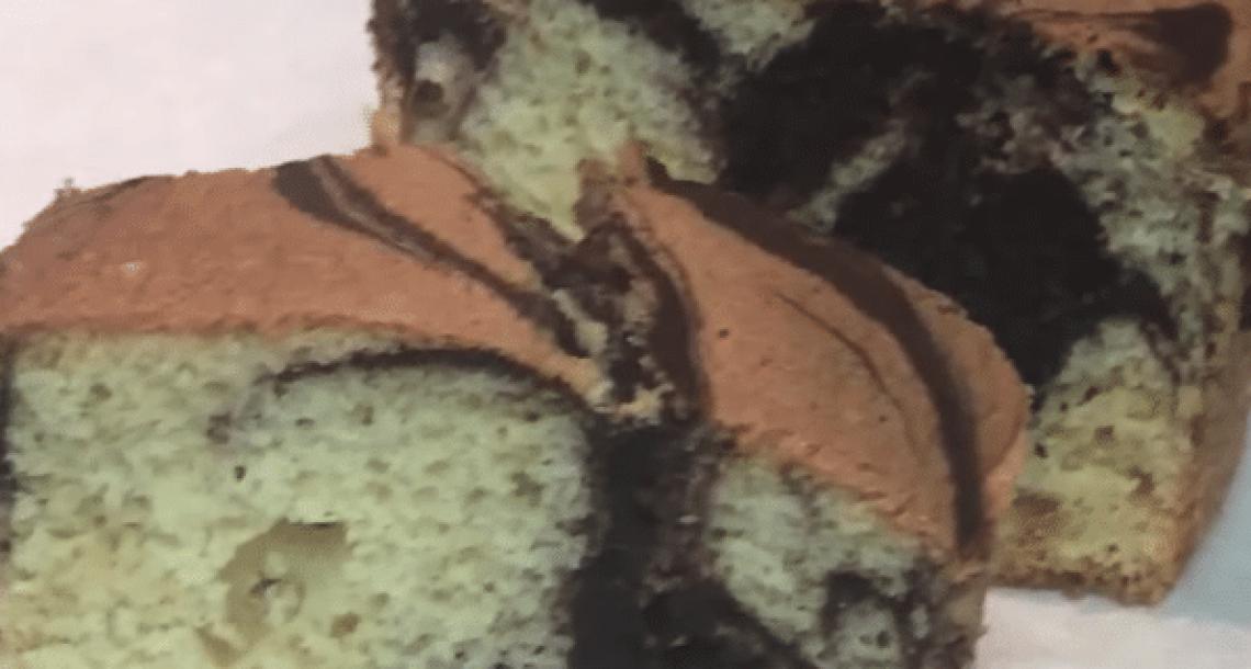 עוגת שיש עסיסית ורכה