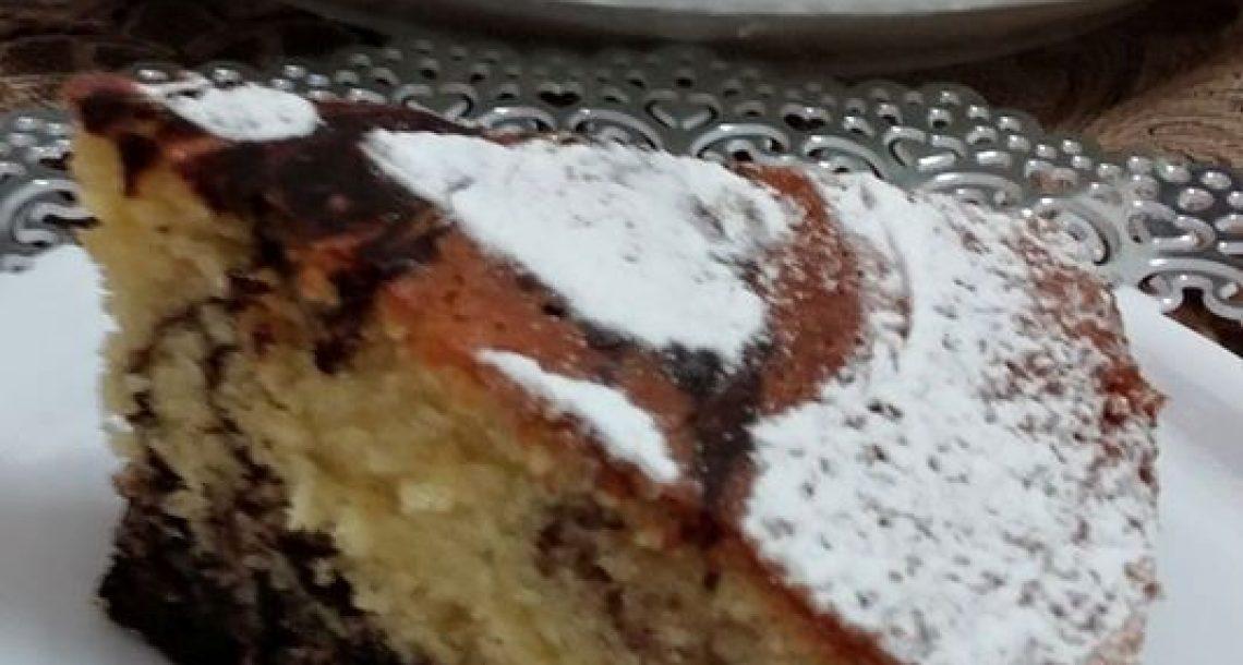 עוגת שיש פרווה – טעימה בטירוף