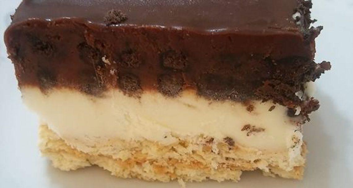 עוגת שכבות טעימה מאוד