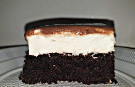 עוגת שלוש שכבות של שלמות