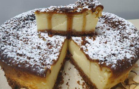 עוגת שמנת ויוגורט – מדהימה קלה וטעימה