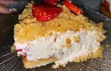 עוגת שמנת תותים – מושלםםם בלשון המעטה!!