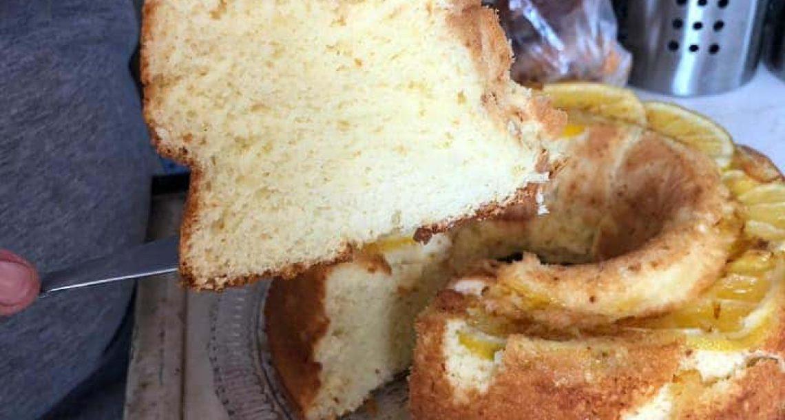 עוגת תפוזים אוורירית וטעימה בטירוף