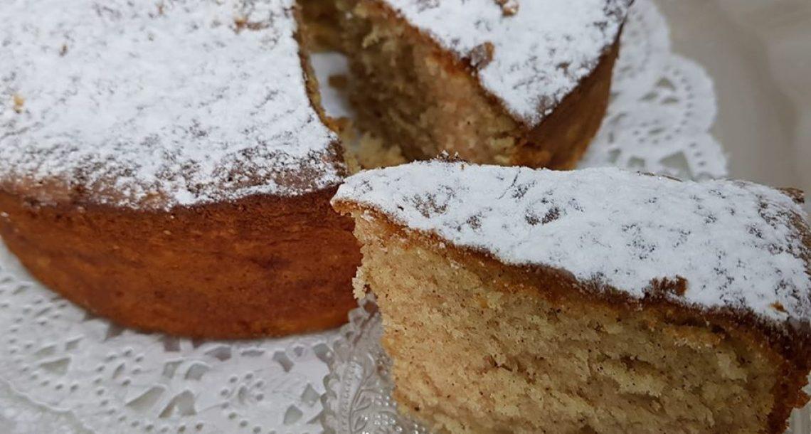 עוגת תפוחים נהדרת וטעימה