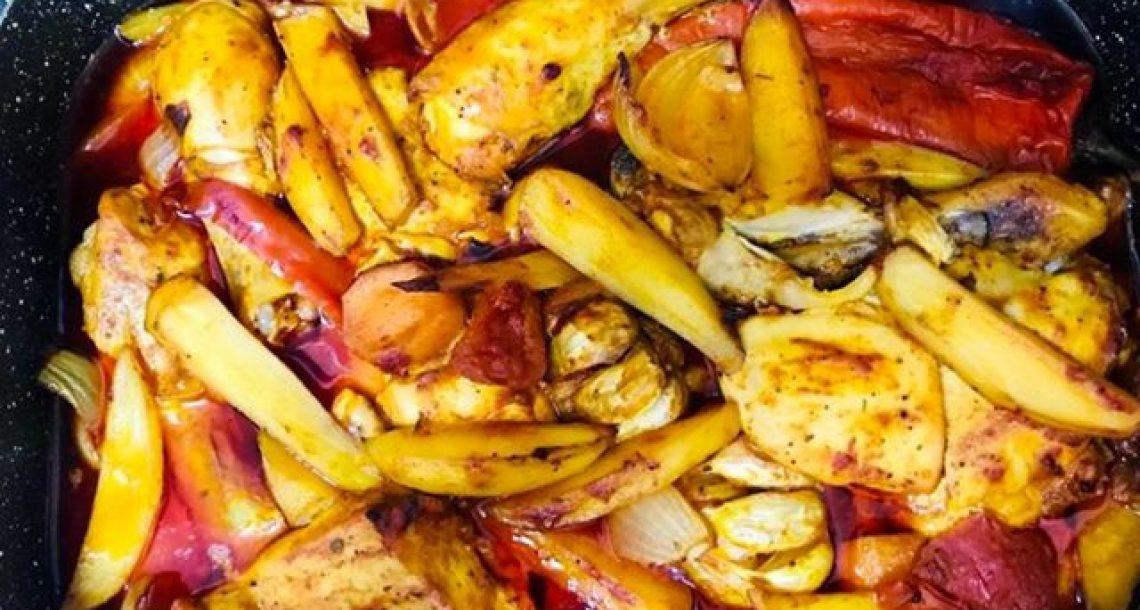 עוף בתנור בבישול ארוך – יוצא מעדן!!