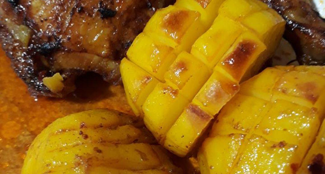 """עוף צלוי עם תפו""""א בתנור – מעדן"""