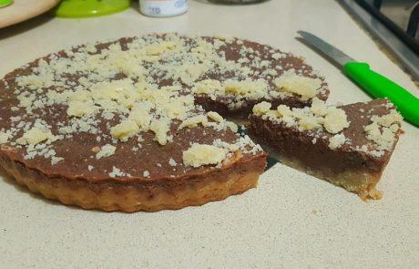 פאי שוקולד בצק פריך מלא חמאה! מתכון קלי קלות