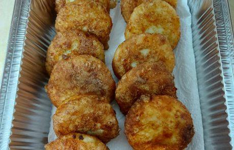 פסטלים תפוחי אדמה ממולאים בשר וצנוברים