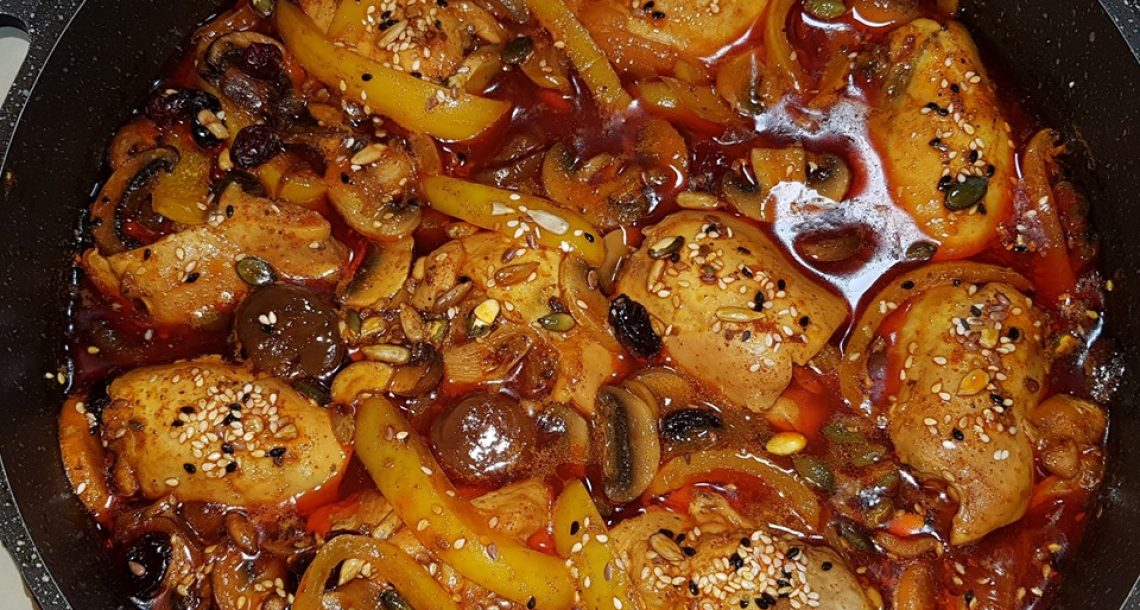 פרגיות ממולאים – במילוי בשר טחון וטחולים