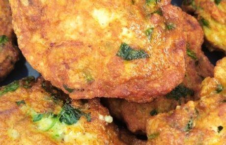 קציצות חזה עוף עם ירק