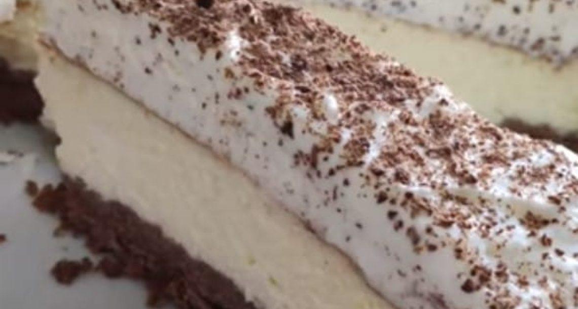 עוגת שמנת בעשר דקות עבודה – טעימה מאוד